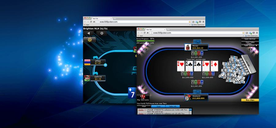 Возможности игры 888 покер в браузере