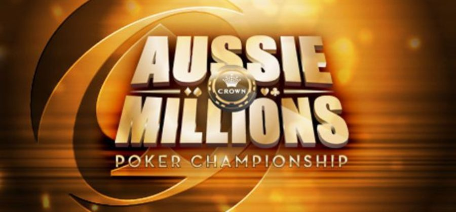 The largest game in the Aussie Millions series