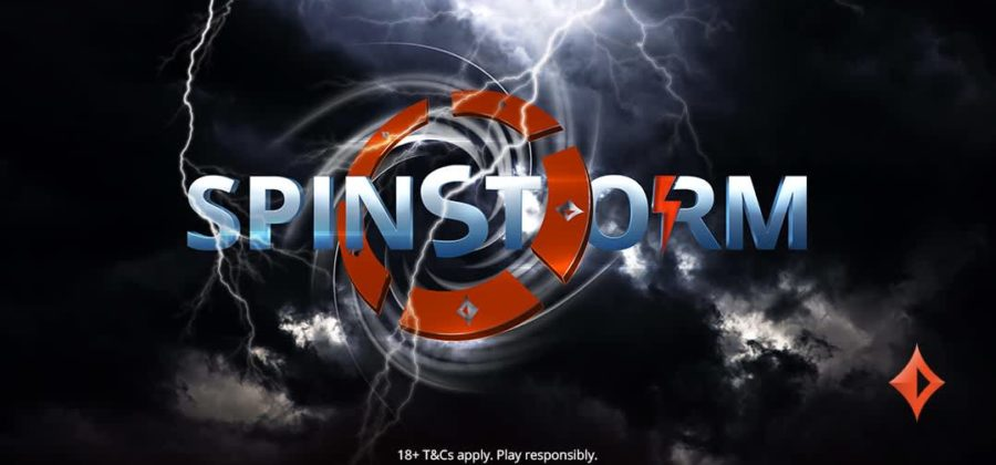 New STORM spin series in partypoker room with a total fund of 500 thousand dollars