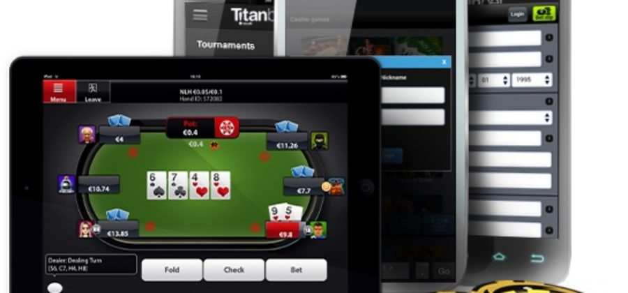 Titan Poker for smartphone: installation features and software features